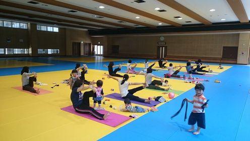 福知山教室 ママヨガクラス