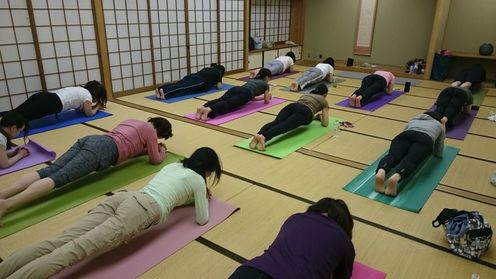福知山教室 リフレッシュヨガクラス